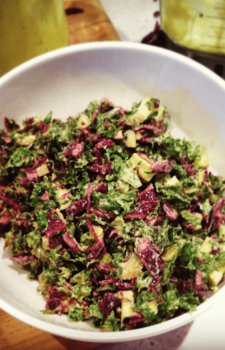 Simple Sweet Kale Salad