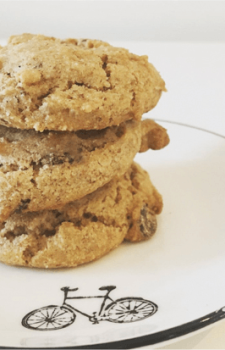 Tigernut Flour Chocolate Chunk Cookies (School-Safe, Gluten-Free, Dairy-Free, Egg-Free)