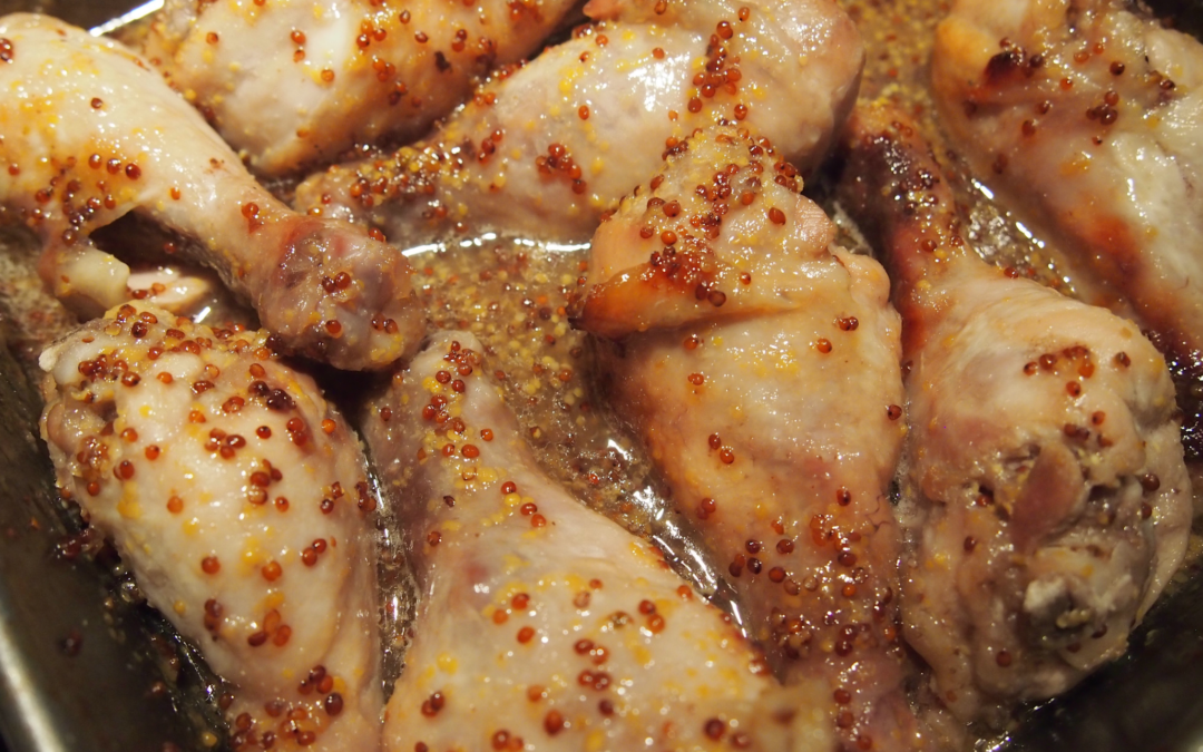 Honey Mustard Chicken Drumsticks