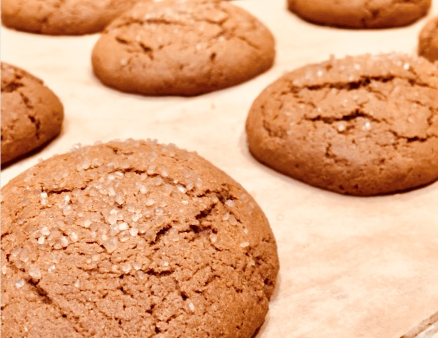 Melt-In-Your-Mouth Healthier Gluten-Free Gingerbread Cookies