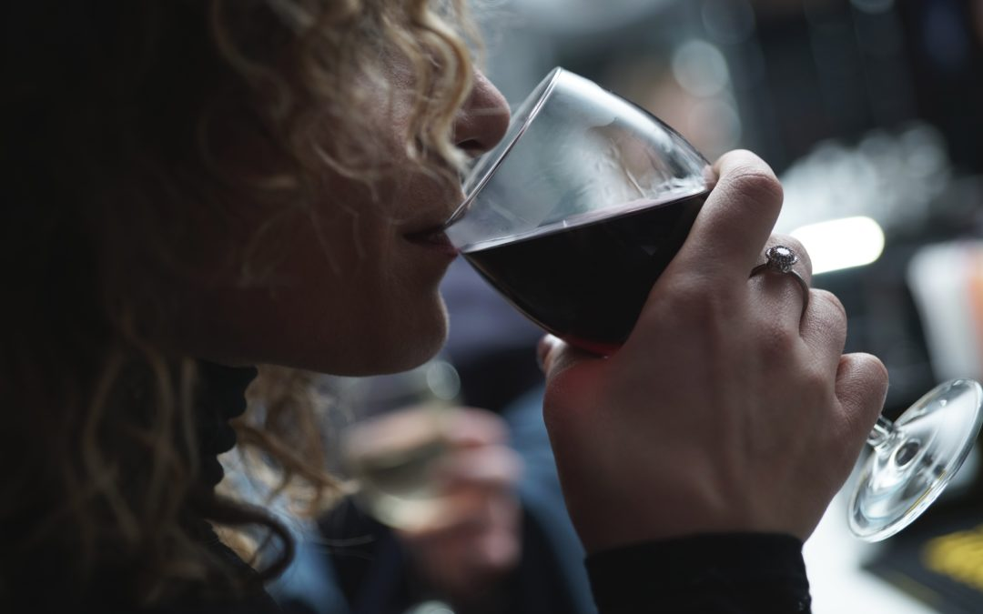 Your nightly glass of wine is a huge danger to your breasts